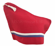 Soviet Russian Red Pilotka Hat Cap Lenin USSR Crimea Artek Camp Pioneer Uniform