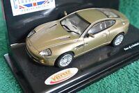 Vitesse 2002 Aston Martin Vanquish 20753 Glengarry Gold Scale 1:43
