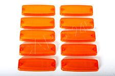 Amber Side Marker Light Lenses 10pcs Left=Right 3765-01
