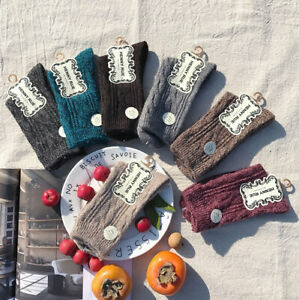 5 Pairs Womens Wool Cashmere Soild Warm Thick Soft Fashion Boot Socks Lot Winter
