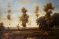 Largest Original Oil Painting, French Impressionism Landscape On Canvas 72 in