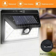 24-LED Waterproof Solar Powered Light Motion Sensor Outdoor Garden Security Lamp