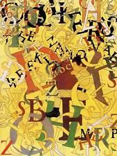 PITTURA ALFABETO LETTERE BOY SCUOLA apprendimento bambini art print poster cc6572