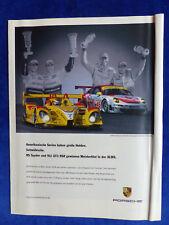 Porsche RS Spyder 911 GT3 RSR - Werbeanzeige Reklame Advertisement 2008 __ (456