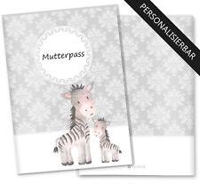 Mutterpasshülle 3-teilig Motiv Black&White Mutterpass personalisierbar mit Namen
