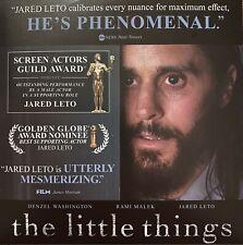 The Little Things (FYC Awards DVD 2020) Denzel Washington Jared Leto Rami Malek