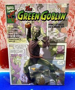 The Green Goblin 1/6 Scale Vinyl Model Kit 1994 Horizon Marvel Comics 90s