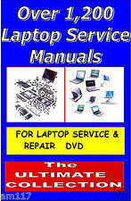 New 1200 Laptop Tech Guides repair & service Manuals Business Oportunity bargain