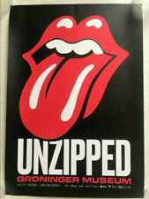 rolling stones unzipped groninger  2019 2020 exhibitionism  poster