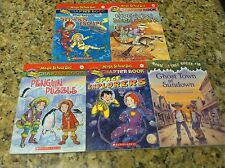 5 Magic School bus tree house science chapter book lot paperback children's used