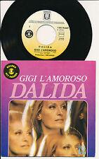 "DALIDA 45 TOURS 7"" BELGIUM GIGI L'AMOROSO"