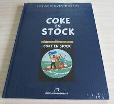 BD BANDE DESSINEE ALBUM LES ARCHIVES TINTIN COKE EN STOCK NEUF FILME