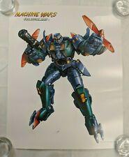 Transformers Machine Wars OBSIDIAN Lithograph Poster Print 2013 Botcon LADV08