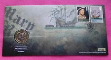 2011 ROYAL MINT MARY ROSE 500TH ANNIVERSARY  BU £2   FDC / PNC