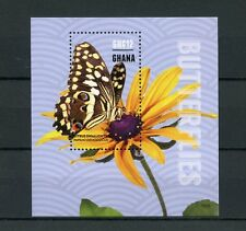 Ghana 2015 MNH Butterflies 1v S/S II Insects Citrus Swallowtail