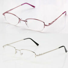 Fashion Women Men Metal Hinges Eyeglasses Reading Glasses Metal+1.00 to +4.00