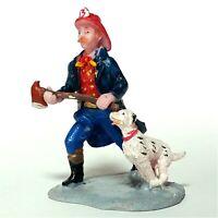 Lemax 2003 Fireman Caddington/Village Collection 32751 Collectible Rare Figurine