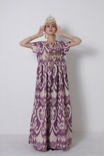 Beautiful  Uzbek Silk Adras National Original Traditional Dress SALE WAS $155.00