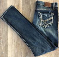 Buckle BKE Women's 30 x 31 Mya Stretch Skinny Denim Jeans Tag 28 x 31.5