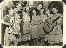 """CARMEN MORALES & JOHN WAYNE in """"The Long Voyage Home"""" Original Vint. 1940"""