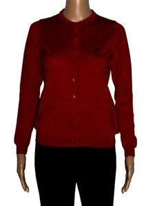 Romeo Sarti Made in Italy 60% OFF Cardigan rosso lady Zegna Baruffa Cashwool®
