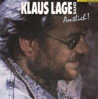 Klaus Lage Band Amtlich! (1987) [CD]