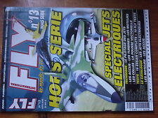 $$4 Revue Fly International HS N°13 Special jets electriques  pilotage  accus