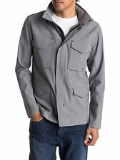 Quiksilver Men's Shell Harb Waterproof Technical Military Jacket Size Large QS2