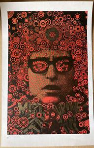 "Bob Dylan,Mister Tambourine Man,Martin Sharpe, Rolling Stones,Vintage 70s 15""x10"