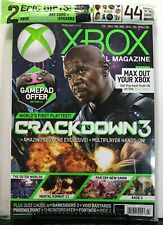 Xbox Official Magazine Crackdown 3 Mortal Combat February 2019 FREE SHIPPING JB