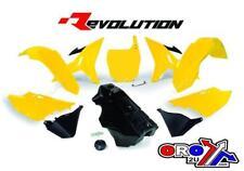 YAMAHA YZ125 YZ250 02-19 RTECH REVOLUTION YELLOW RESTYLE PLASTIC KIT WITH TANK