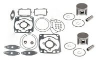 Arctic Cat Crossfire 1000 Top End Rebuild Kit SPI Pistons Bearings Gaskets Std