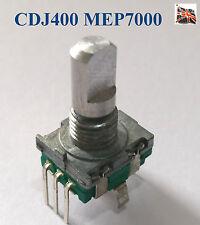 DSX1056 Cadran Select/Poussoir Remplacement Bouton Rotatif pour Pioneer CDJ400 MEP7000