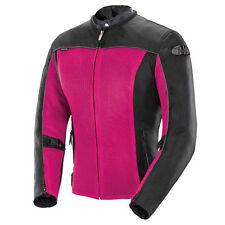 Joe Rocket Ladies Velocity Mesh Jacket Pink Black Free Size Exchanges