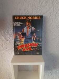 Invasion USA - Chuck Norris - Mediabook A - Uncut - OVP
