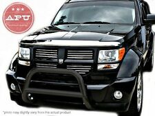 "2007-2011 Dodge Nitro Black Bull Bar w/o Skid Plate + 3"" LED Off Road Fog Lights"