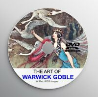 WARWICK GOBLE Book Illustrator Art Deco Vintage Story Book Art Prints CD Artist