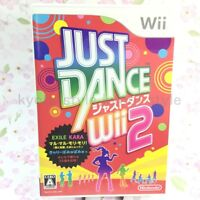 USED Nintendo Wii JUST DANCE Wii 2 19648 JAPAN IMPORT
