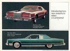 1975 Lincoln Continental Mark IV Brochure 32456-CEB8R6