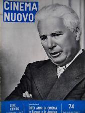 Cinema Nuovo 74 1956 10 anni di cinema in Europa e America.  C52