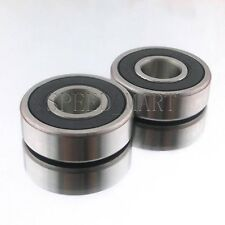 2PCS 6004-2RS 6004RS Deep Groove Rubber Shielded Ball Bearing (20mm*42mm*12mm)