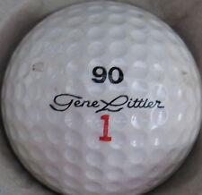 (1) GENE LITTLER SIGNATURE LOGO GOLF BALL (90 Ram Made in USA CIR 1964 -1966) #1