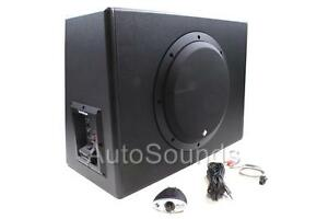 """Rockford Fosgate P300-10 300 Watts 10"""" Powered Amplified Subwoofer Enclosure Box"""