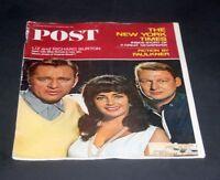 SATURDAY EVENING POST OCT 9 1965 RICHARD BURTON-ELIZABETH TAYLOR & MIKE NICHOLS