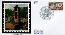 FDC PREMIER JOUR ANDORRE 1978 TIMBRE N° 269 EUROPA EGLISE DE PAL