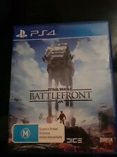 PS4 STAR WARS BATTLEFRONT GAME sony playstation 4 very good condition free post