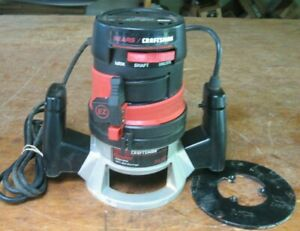 Sears Craftsman router 1-1/2 HP 25,000 RPM