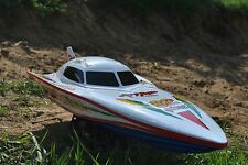 RC SALE Radio Remote Control White Stealth EP Racing Model Speed Boat 7000 Toy