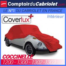 Housse / Bâche protection Coverlux pour VW Coccinelle en Jersey couleur Rouge