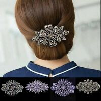 Flower Ponytail Women's Pins Clips Claw Show Accessories Hair Clips Crystal